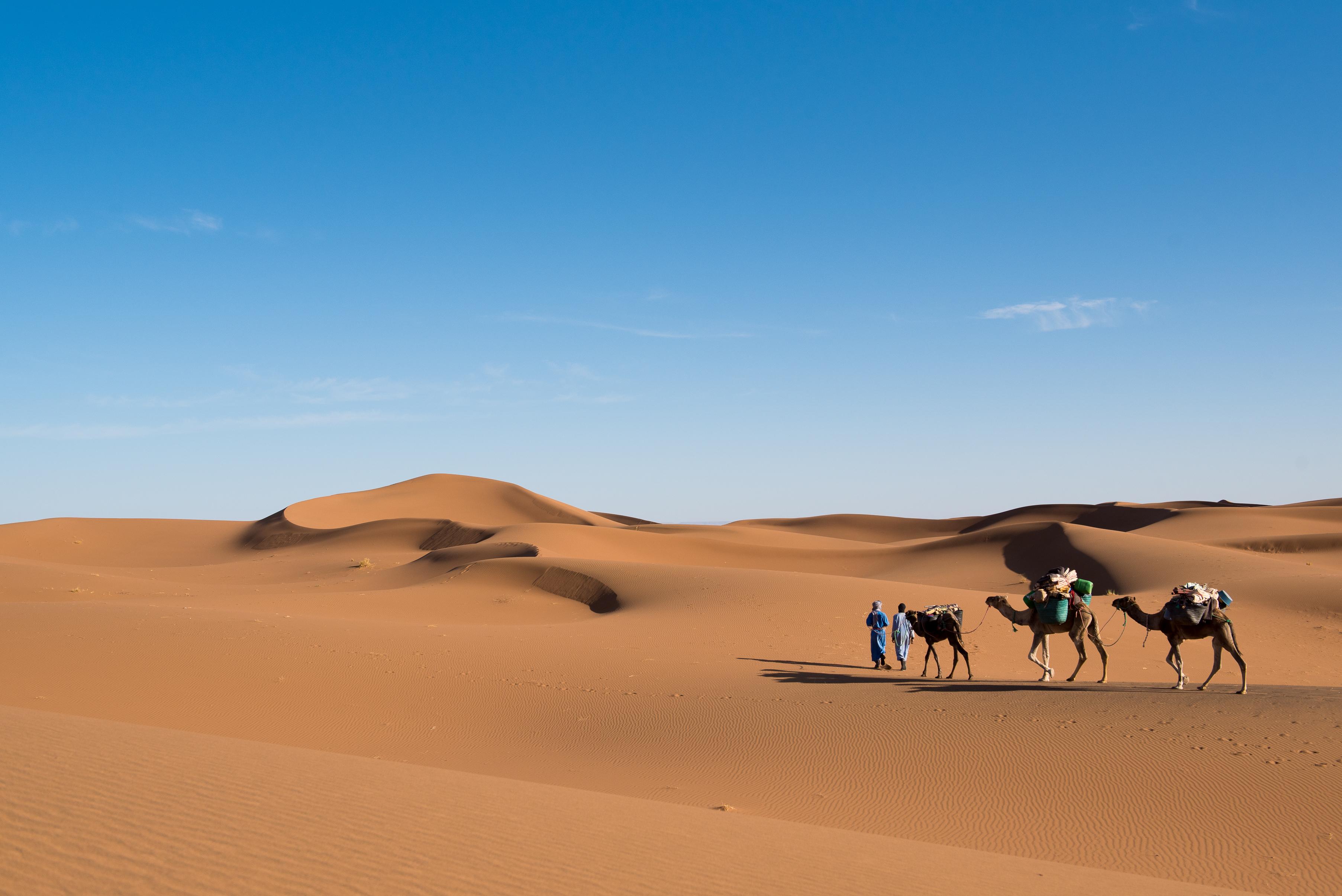 TREK VOYAGE PHOTO MAROC DESERT